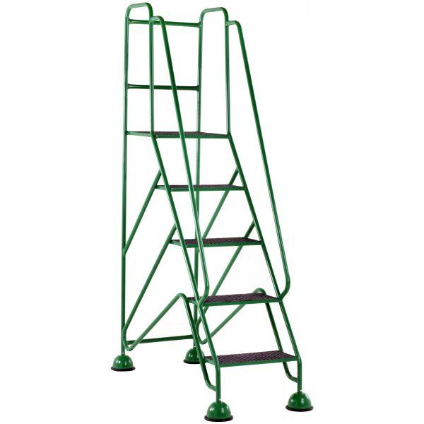 GRP Classic Plus Steps 5 tread Green