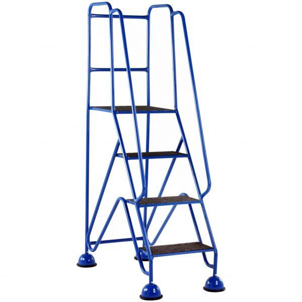 GRP Classic Plus Steps 4 tread Blue