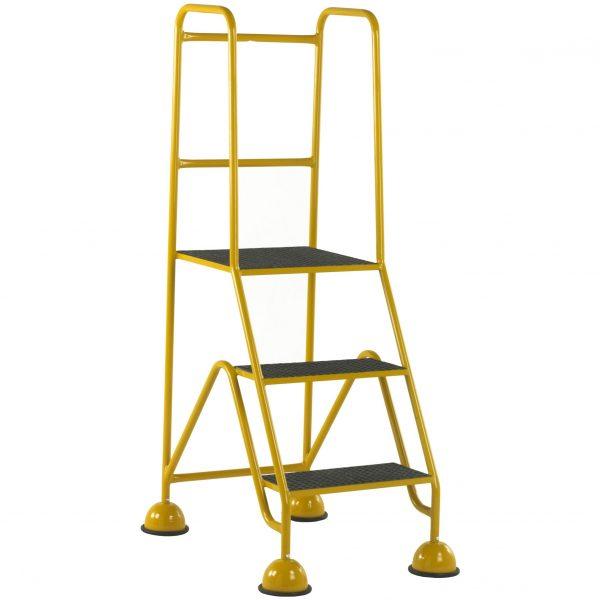 GRP Classic Plus Steps 3 tread Yellow