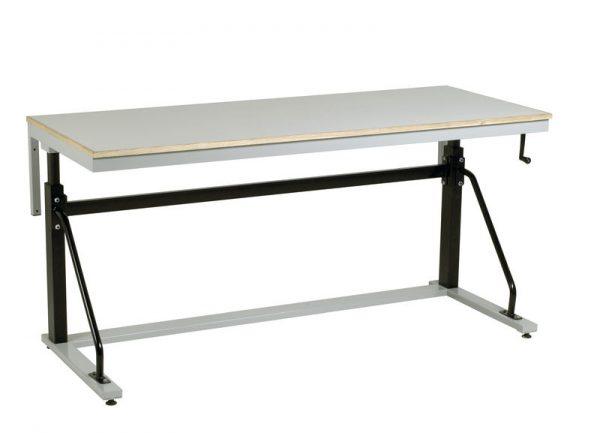 AHB8-LA-Adjustable Height Cantilever workbench
