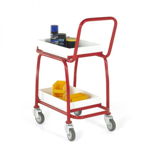 BT108-2 tier tray trolley