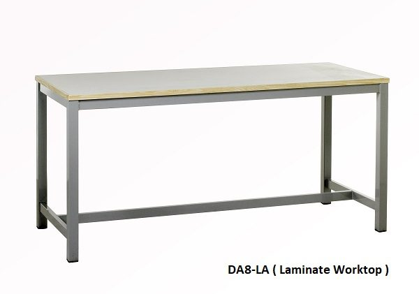 DA8-LA Heavy Duty Square Tube Workbench