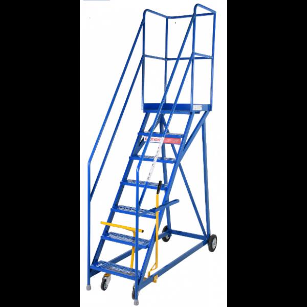 Narrow Base- extra heavy duty warehouse step