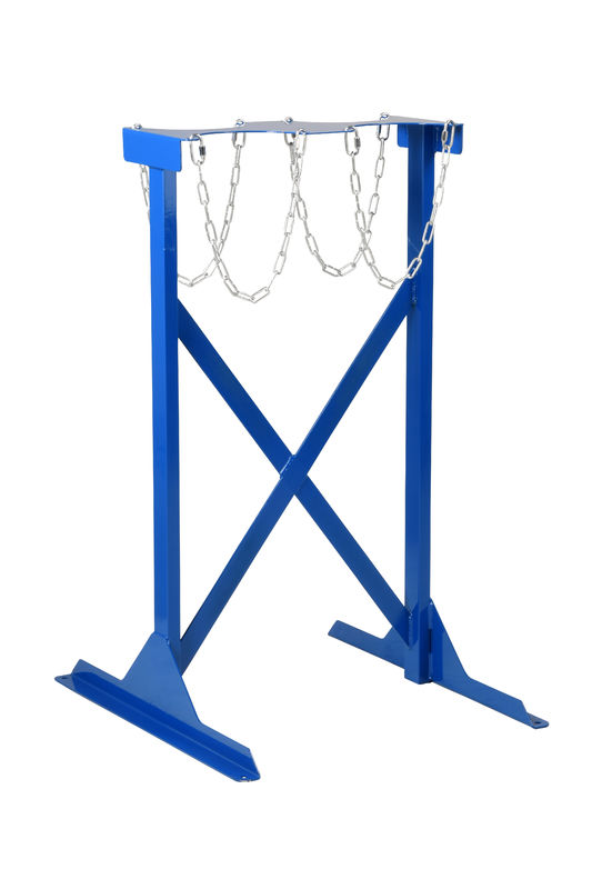 SC304 Heavy Duty Floor Fixing Cylinder Rack - 2 Cylinder - Double sidedl