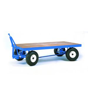 Double Ackerman Towing Trailer