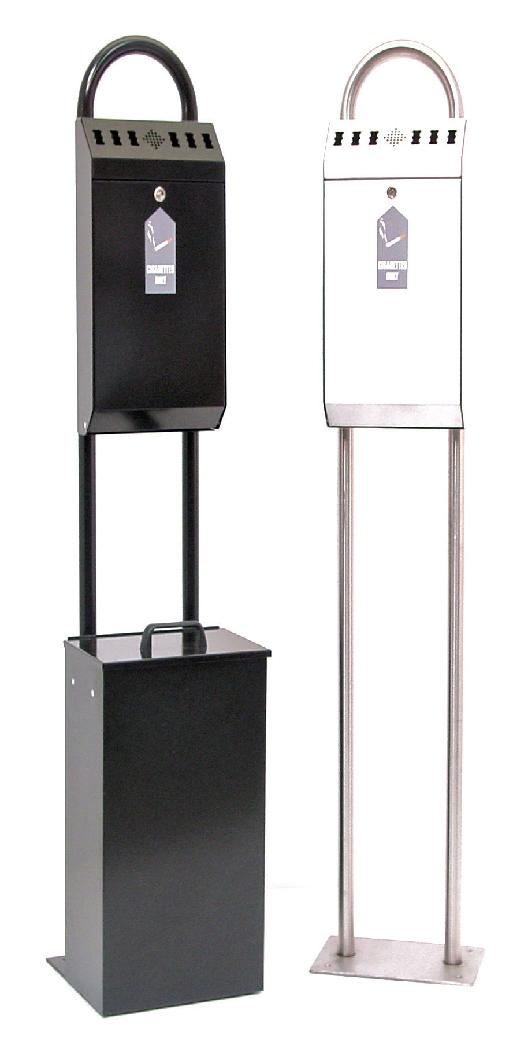 Floor Standing Cigarette disposal Bins