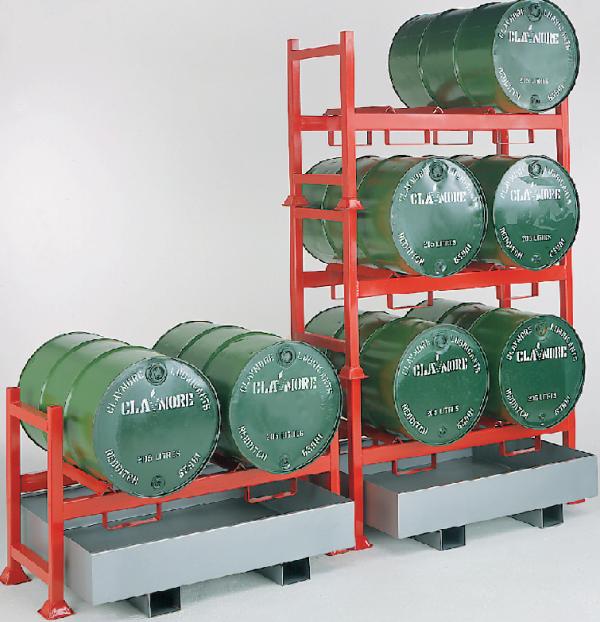 Stacking Drum Pallet Racking System