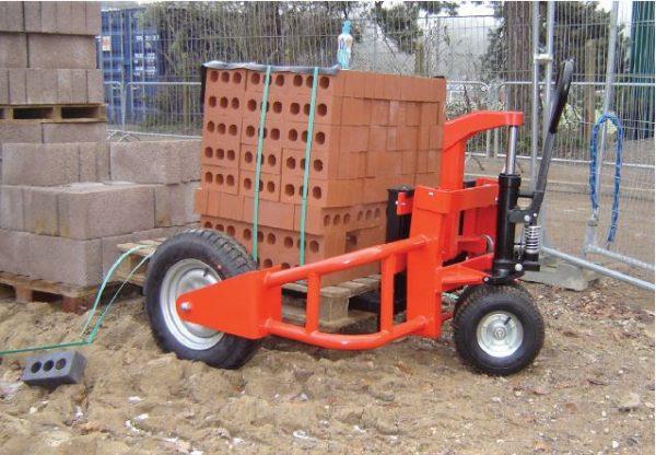 TNV1200 Heavy Duty Rough Terrain Pallet Trucks