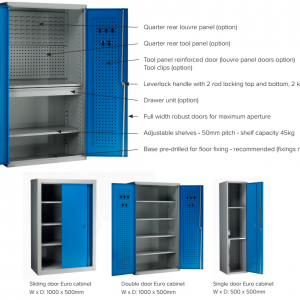 Euro Tall Cabinets