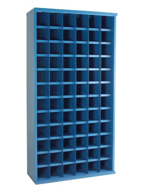SBC601 72 Bin Steel Bin Cabinet