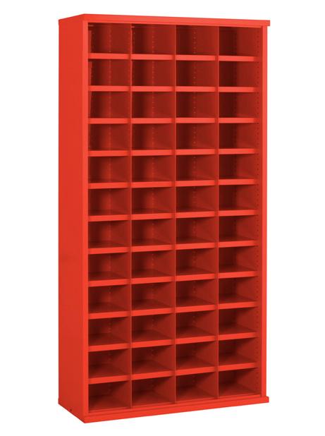 SBC604 48 Bin Steel Bin Cabinet