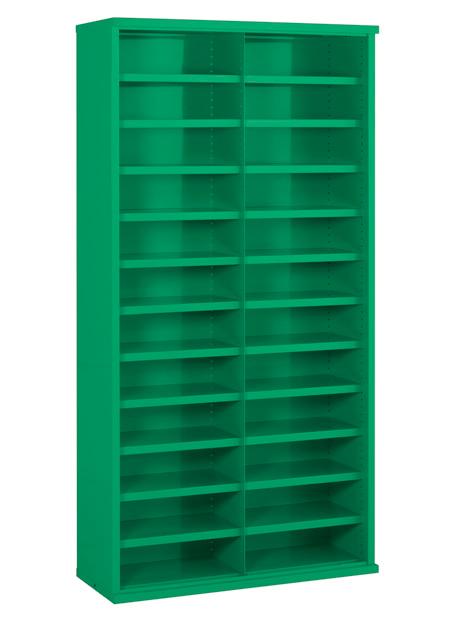 SBC610 24 Bin Steel Bin Cabinet