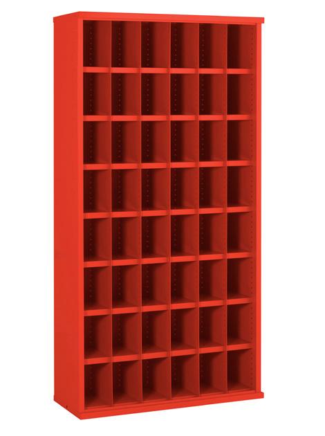 SBC613 48 Bin Steel Bin Cabinet