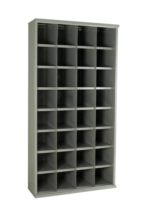 SBC616 32 Bin Steel Bin Cabinet