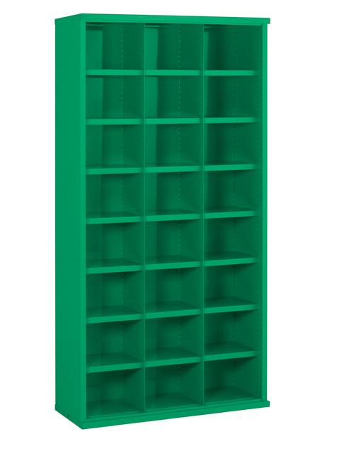 SBC619 24 Bin Steel Bin Cabinet