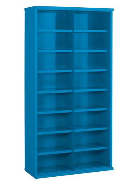SBC622 16 Bin Steel Bin Cabinet