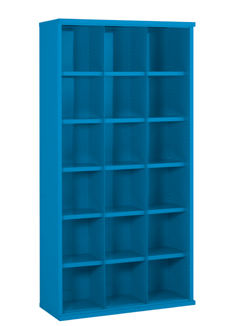 SBC631 18 bin Steel Cabinet