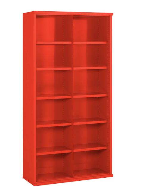 SBC634 12 bin Steel Cabinet