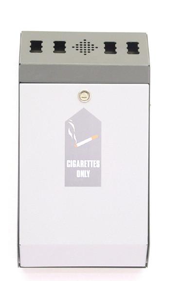 Wall Mounted Cigarette Disposal Bins