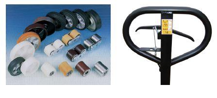 Pallet Truck Wheel and brake options