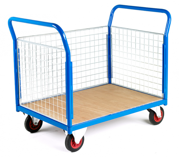 Mobile Trolley 3 sided Mesh