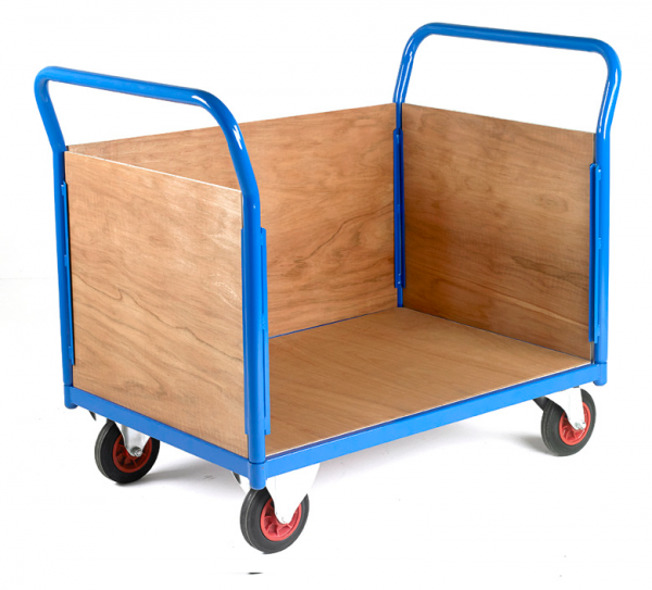 Platform Truck 3 sided plywood