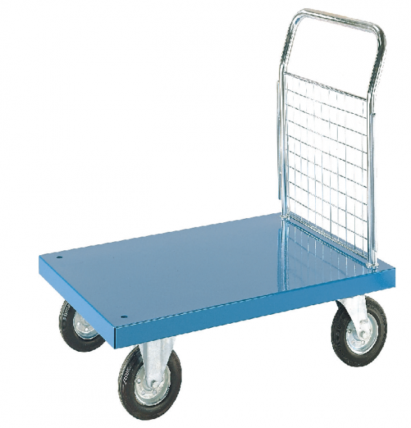 Steel Platform Truck 1 Sided Mesh