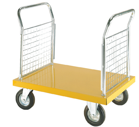 Steel Platform Truck 2 Sided Mesh