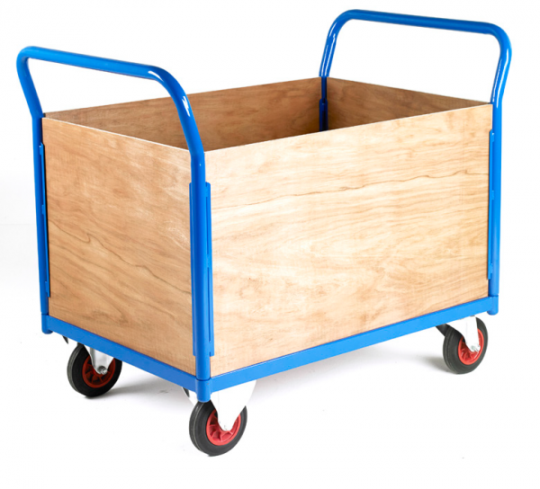 Platform Truck 4 sided plywood