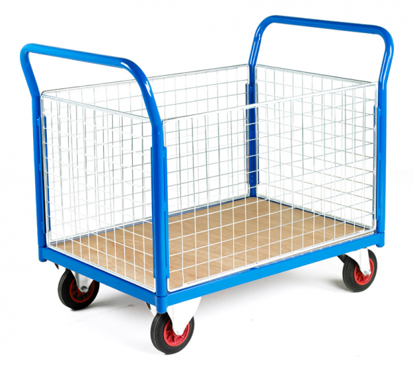 Mobile Trolley 4 sided Mesh