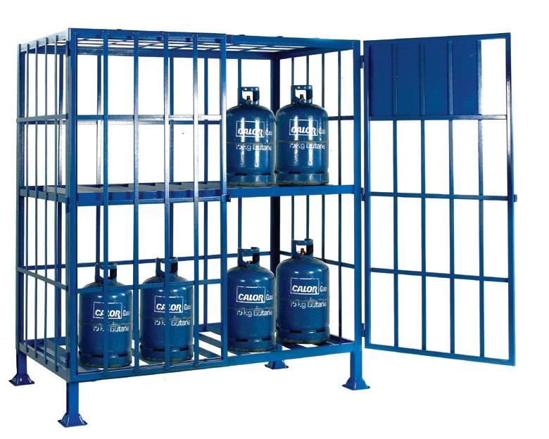 Cylinder Storage Cages
