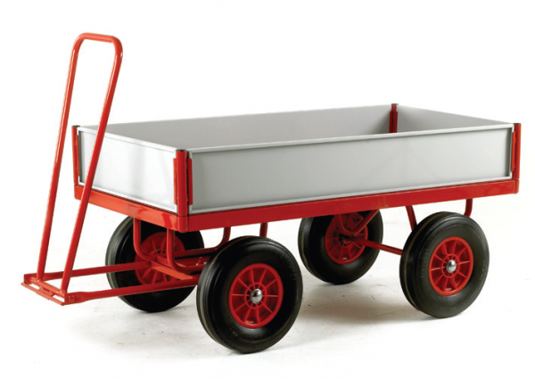 TR126 Turtntable Trailer with TR157SS Side Panel Kit
