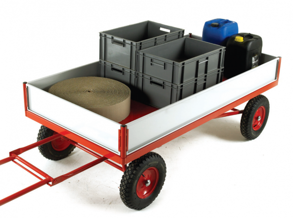 TR230P Turntable Trailer with TR210SS Side Panel Kit
