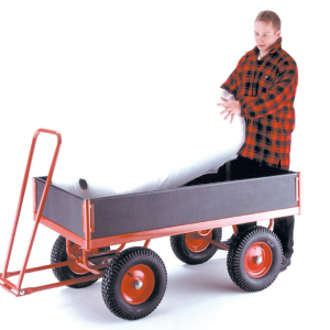 Phenolic Turntable Trailer