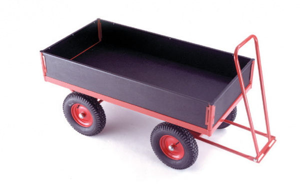 TR324P turntable trailer - pneumatic tyres