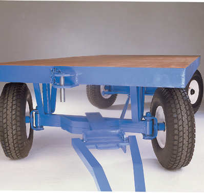 Heavy Duty Towing Trailer - Ackerman Steering