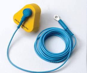 Earth lead and plug