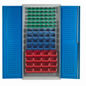 BCL78 Bin Cabinet - Louvre Support -78 bins