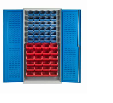 BCL54 Bin Cabinet - Louvre Support -54 bins