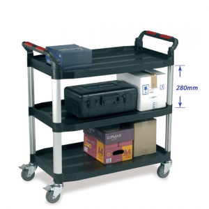Utility Tray Trolley - 3 shelf Large size
