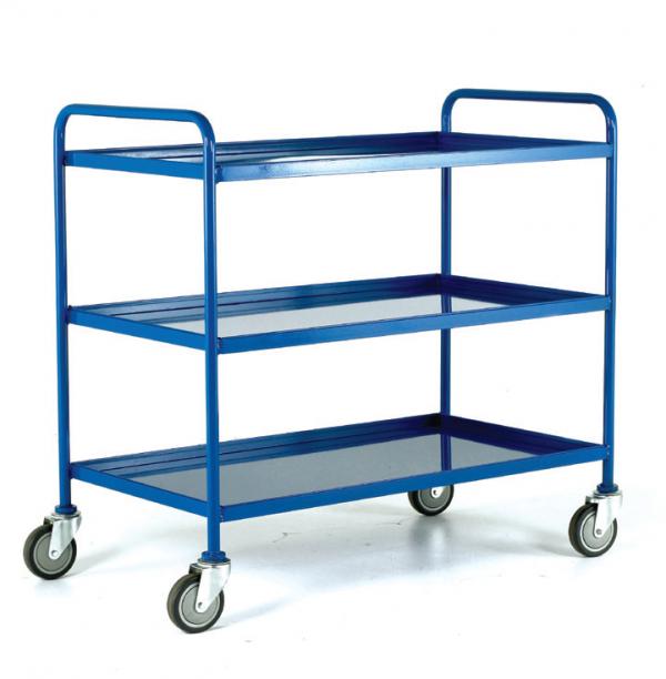Tray Trolley Blue Epoxy Trays 3 tray