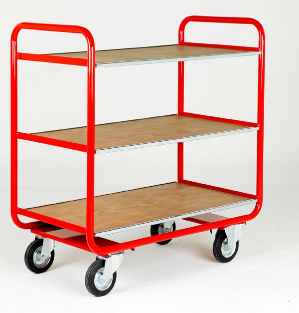 TT100 Rage Shelf Trolley 3 shelf