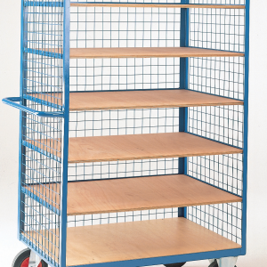 Shelf Truck with mesh cage