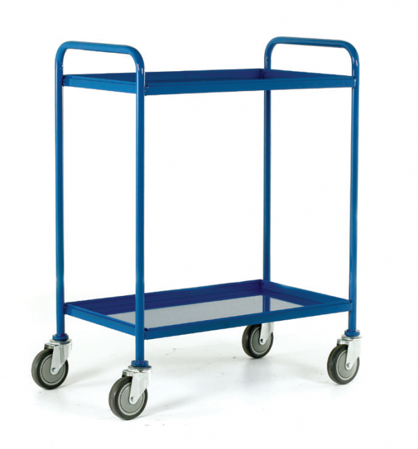 Tray Trolley Blue Epoxy Trays 2 tray