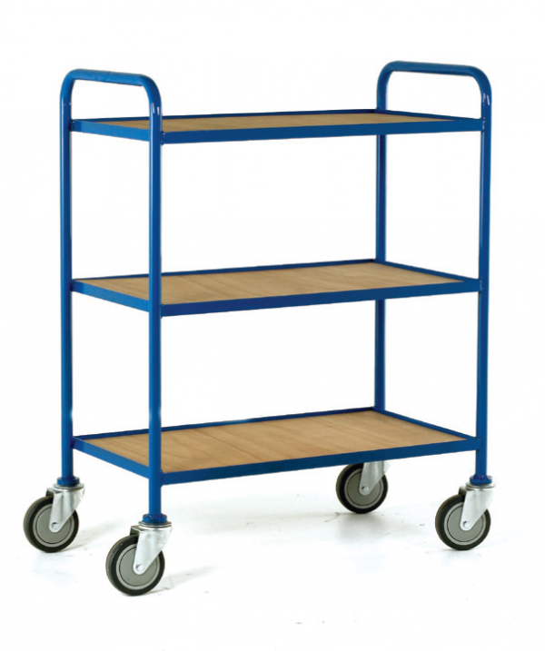 Tray Trolley Plywood Trays 3 tray