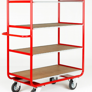 TT100 Rage Shelf Trolley 4 shelf