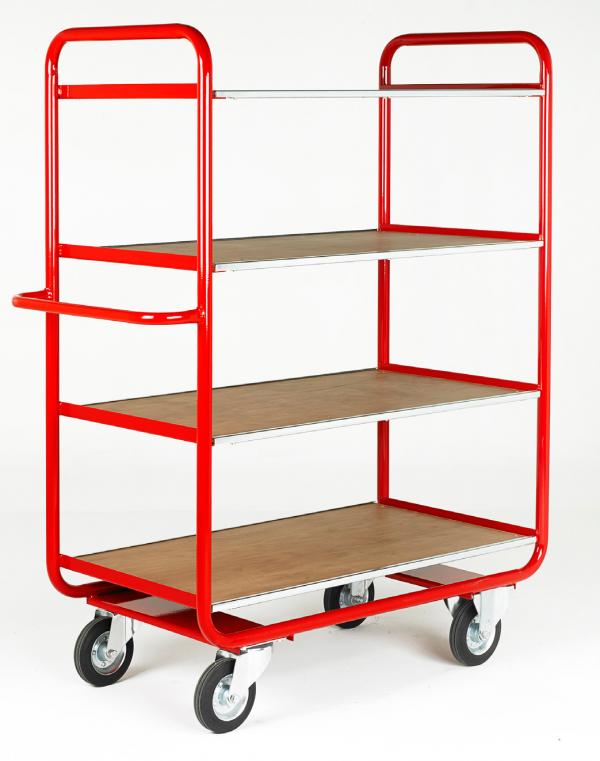 TT100 Rage Shelf Trolley 4 shelf
