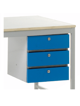 3 x Drawers Right Handside