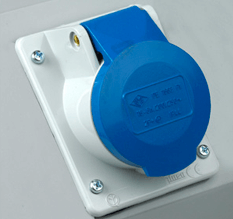 Single Phase Blue Socket