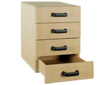 Right Fitted – 4 Drawer